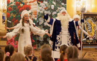 Детские новогодние театрализованные представления Ёлка в Царицино