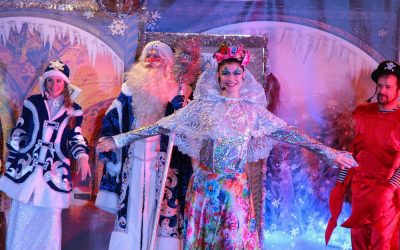 Детские новогодние театрализованные представления Ёлка в Коломенском